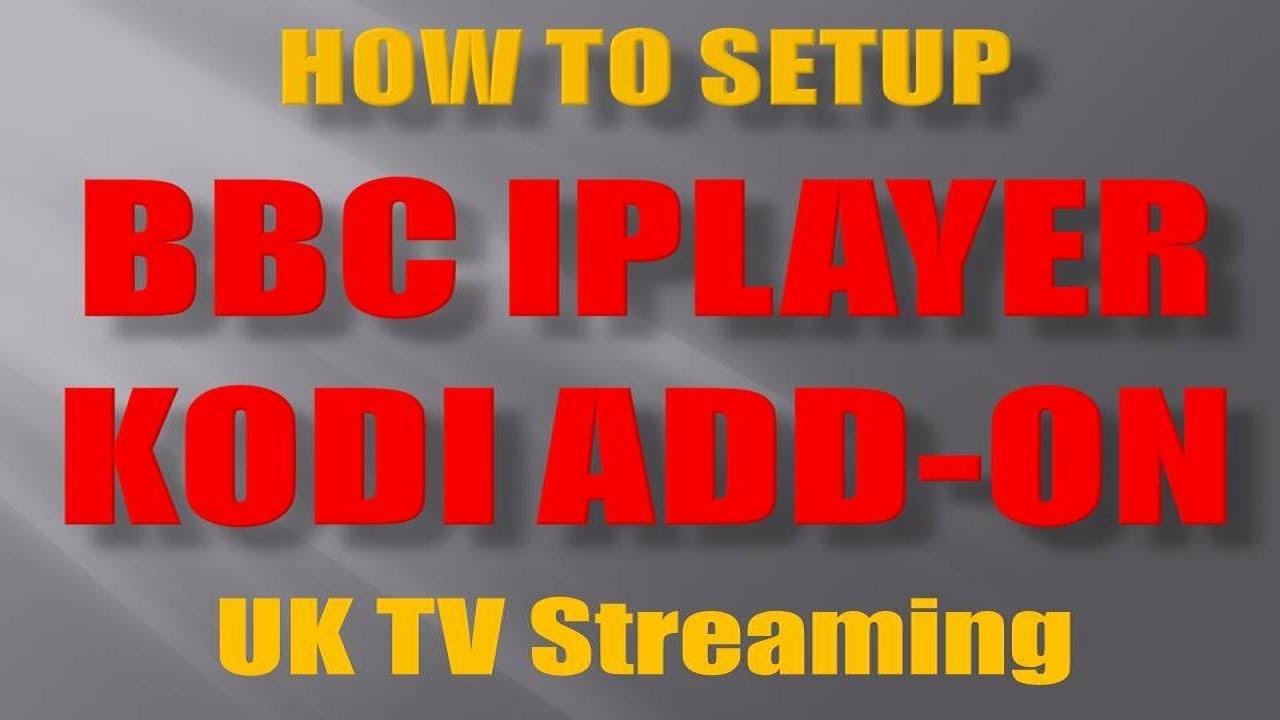 UK TV Kodi Addons - Live TV and Catch Up - Home Media Portal