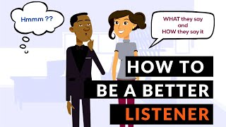 How to be a better listener - The Three Levels Of Listening