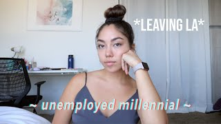 Unemployed millennial update | moving back home with parents