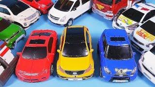 TOBOT CarBot car toys Tritan & more transformers robot cars 헬로카봇 또봇 변신 놀이