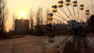 Pripyat ghost town in 2015, nearly 30 years after Chernobyl NPP accident