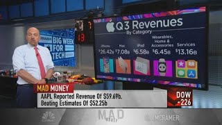 Jim Cramer reacts to Amazon, Apple, Facebook and Alphabet earnings