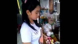 Penjual Es Campur Cantik