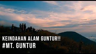 Mendaki Gunung Guntur 2019 - keindahan samudra awan