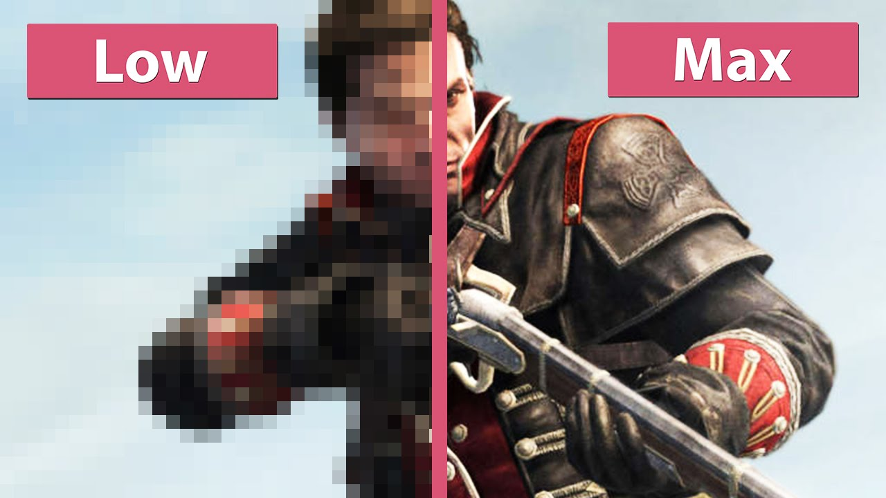 Assassin S Creed Rogue Pc Low Vs Max Graphics Comparison Wqhd