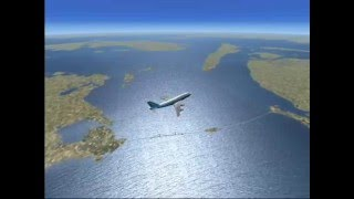 FSX Tokyo to Amsterdam a long haul flight