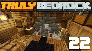Business is Boomin! & Nordic Kitchen Details! - Truly Bedrock - S1 E22 - Minecraft SMP