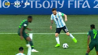 Best Skills of Lionel Messi in the 2018 World Cup