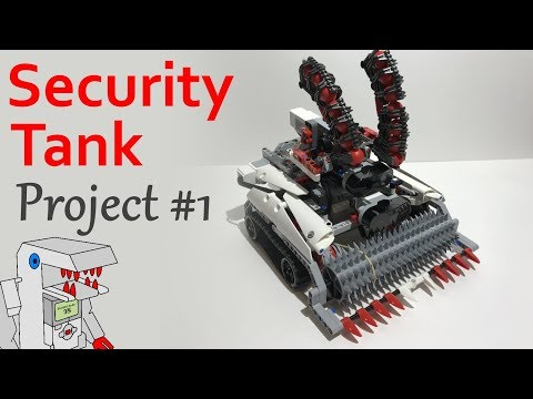 Security Tank Project 1 From Building Smart Lego Mindstorms Ev3 ...