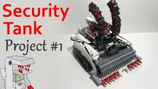 Security Tank - Project #1 from Building Smart LEGO MINDSTORMS EV3 Robots