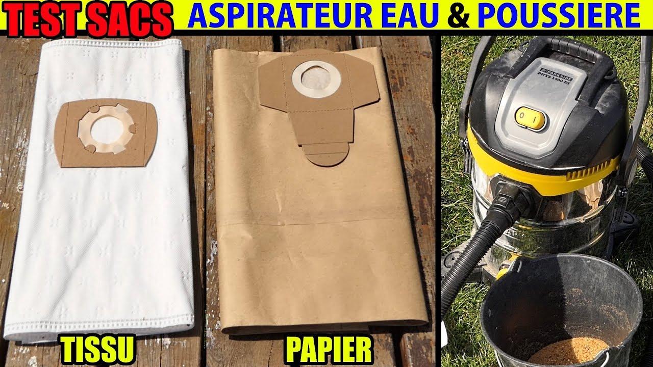 sacs pour aspirateur eau et poussi re parkside pnts 1400. Black Bedroom Furniture Sets. Home Design Ideas