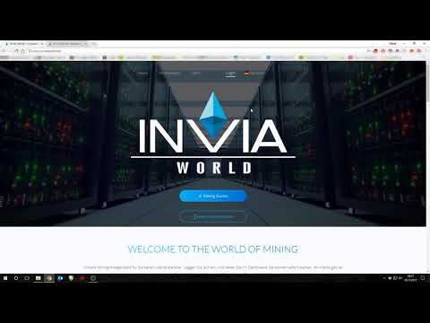 Karriere Seite INVIAInvia World - Bitcoin -Mix-  Mining 2.0 Wo ist die Karriereseite geblieben?!