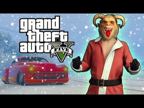 Merry Christmas New Krampus Mask And Hermes Muscle Car Gta 5