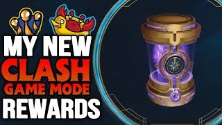 My LOOT REWARDS from CLASH GAME MODE Tournament | NEW GAME MODE (League of Legends)