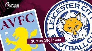 Aston Villa 1 - 4 Leicester City | Extended Highlights