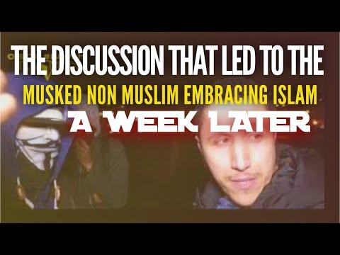 MASKED NON MUSLIM QUESTIONS MUSLIM ON ISLAM