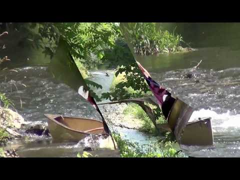 Canoe Crash Fail  Adventure Compilation