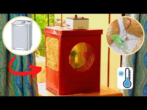 Portable Evaporative Room Cooler (The Indian Type) | DIY