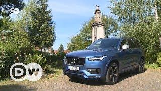 Volvo XC90 - самый большой внедорожник шведского автопроизводителя
