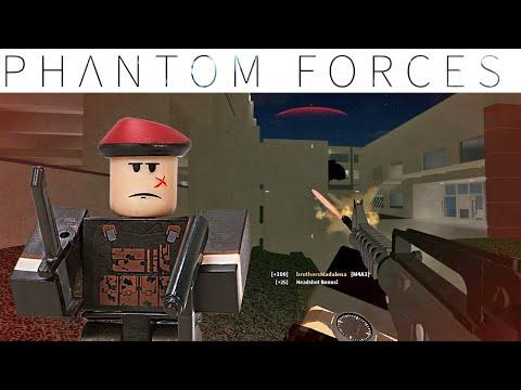 ТРЕПЕЩИТЕ ВРАГИ, СТРЕЛЯЮ БЕЗ ПРОМАХА! Phantom Forces Roblox