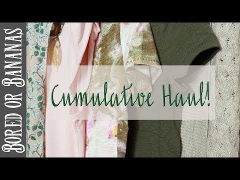 HUGE HAUL {Spring Capsule Wardrobe, Home Decor, + More!}