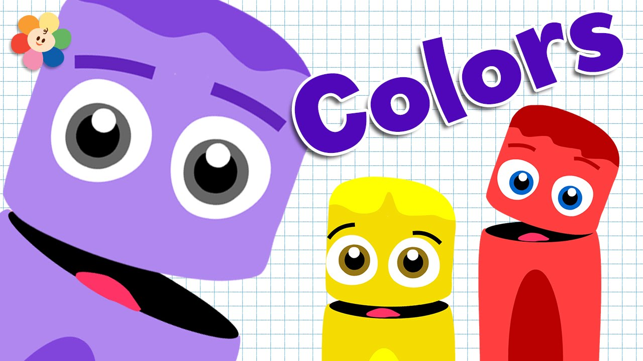 Colors for Kids | Learning the color Purple | Color Crew | BabyFirst ...