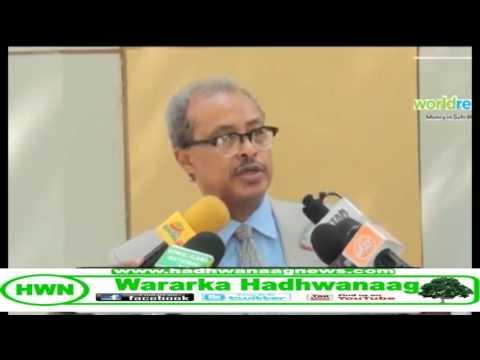 Xukuumadda Oo SHaacisay Guddoomiyaha Baaralamaanka Somaliland CIDUU YAHAY