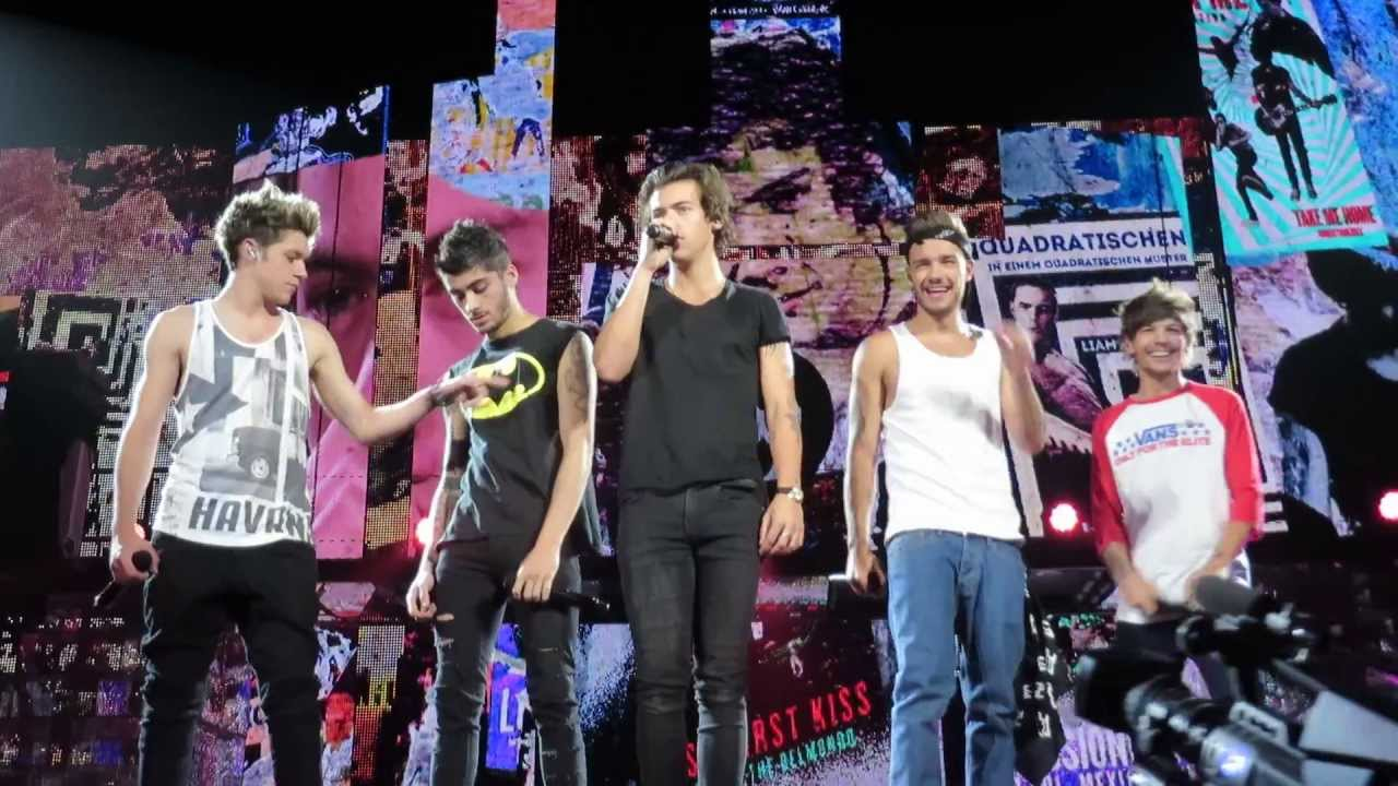 I Would - One Direction Take Me Home Tour 28/10/13