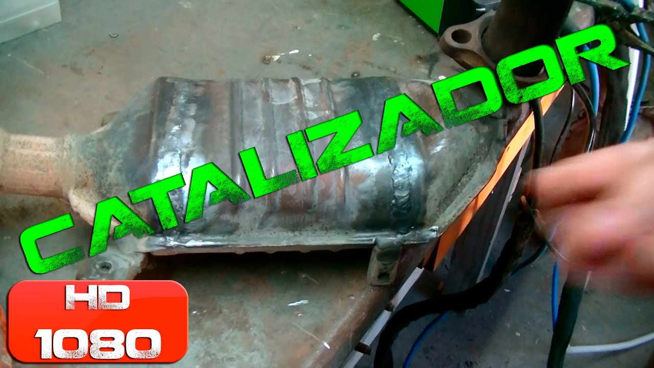 Reparación De Catalizador De Auto Car Catalytic Converter Fixing