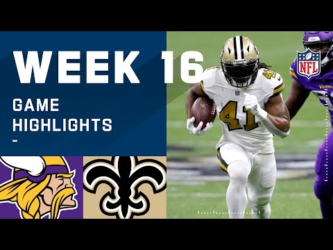 Vikings vs. Saints Week 16 Highlights | NFL 2020