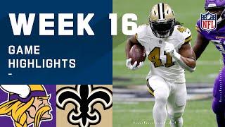 Vikings vs. Saints Week 16 Highlights   NFL 2020