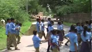 Udaipur Government School asking for barrier