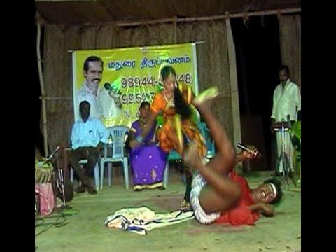 kiramiya aadal paadal-  Comedy scene by Mayakulam madhavan and Thiruppuvanam Ambalanathan