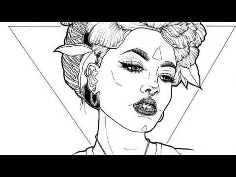 اجمل رسومات ابيض و اسود The Most Beautiful Drawings In Black And