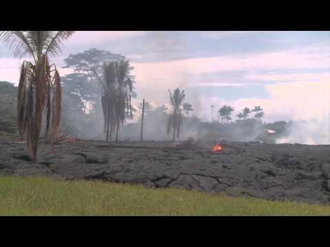 Hawaii Puna Lava Flow - October 27