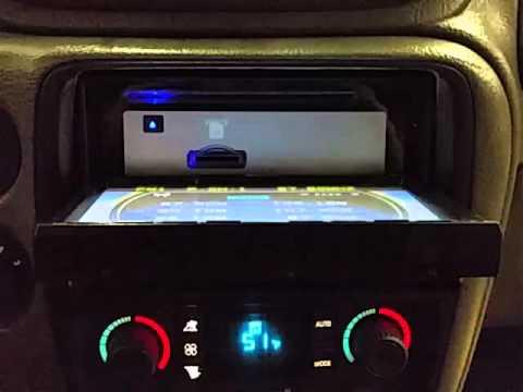 Bl1447 2002 Chevrolet Trailblazer Ext Radiogps Youtube