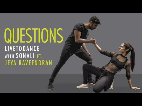 Questions | Chris Brown | Dance Cover | LiveToDance with Sonali ft. Jeya Raveendran