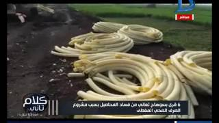 كلام تاني | 6 قرى بسوهاج تعاني من فساد المحاصيل بسبب مشروع الصرف الصحي المغطى