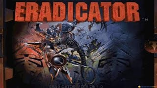 Eradicator gameplay (PC Game, 1996)
