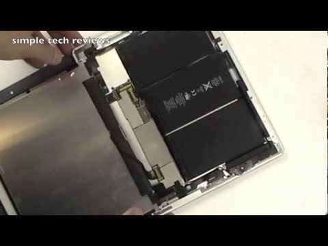 YouTube Video - iPad 3 Screen Repair and Disassembly Tutorial