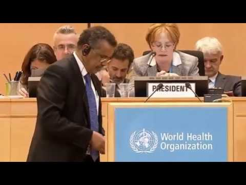 Dr. Tedros Adhanom elected as the New Director General of World Health Organization W.H.O