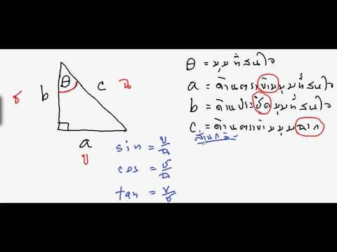 ตรีโกณมิติ(o-net)(2/20)