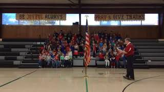 LSA salute to Veterans Day & active duty military