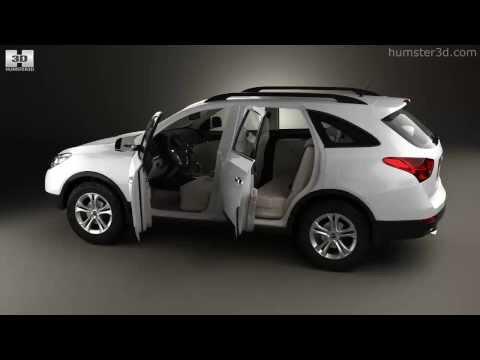 Hyundai Veracruz (ix55) with HQ interior 2014 by 3D model store Humster3D.com