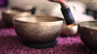 Tibetan Singing Bells Monks Crystal Bowls To Open The
