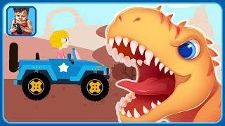 Динозавры и машинки * Мультик игра для детей про динозавров и машины * Jurassic Dig