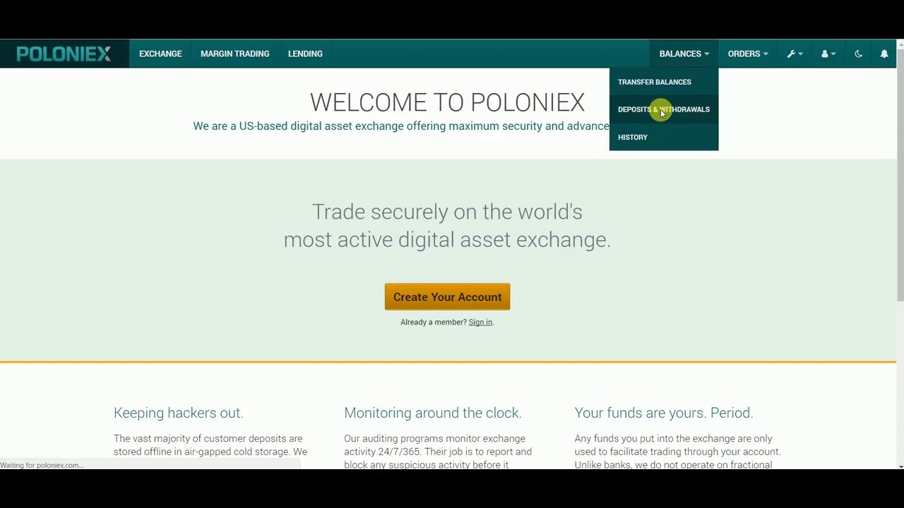 Coinbase Vs Poloniex Can Be Fun For Anyone