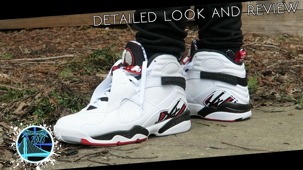 brand new 8de36 20481 Air Jordan 8 Retro  Alternate    Detailed Look and Review