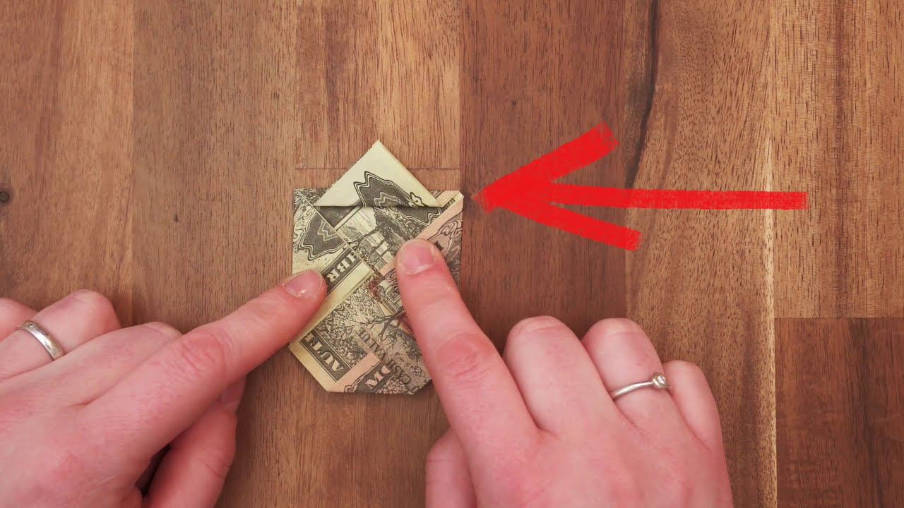 Dollar Bill Origami Dog Easy Instructions On How To Fold A