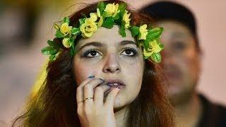 Brezilyalılar tarihi Almanya yenilgisini nasıl izledi? - BBC TÜRKÇE